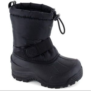 North side frosty snow boots winter shoe 12 kids